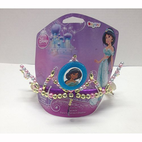 Disney Princess Jasmine of Aladdin Child Costume Tiara Blue Cameo