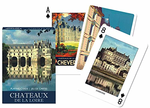 Piatnik Chateaux Single Deck Playing Cards (Set of 52 Cards)