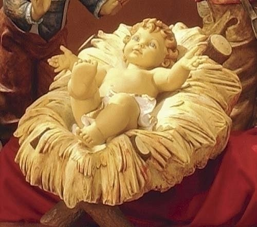 Fontanini 50 Nativity Cradle For Infant Jesus