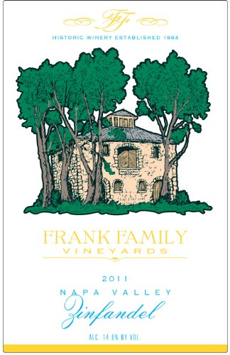 2011 Frank Family Vineyards Napa Valley Zinfandel 750 Ml