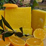 Artisan Soap Florida Ctrus Sunshine with Tangarines and Persian Lime. ~ Natural Handcrafted...