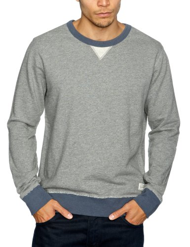 Cottonfield Ruepen Men's Sweatshirt Medium Grey Melange XX-Large