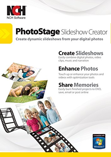 PhotoStage Slideshow Software - Share Pictures and Videos to Music or Narration [Download] (Slideshow Software compare prices)