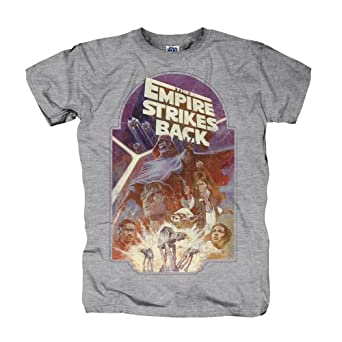 Star Wars - T-shirt The Empire Strikes Back - Gris - XS