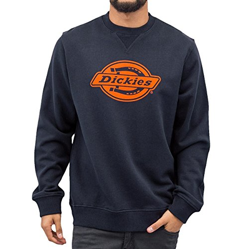 Dickies Chicago-Felpa Uomo    Blu (Dark Navy) Small