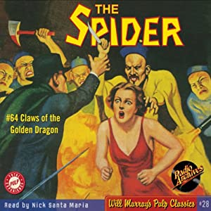 Spider #64, January 1939: The Spider | [Grant Stockbridge, RadioArchives.com]