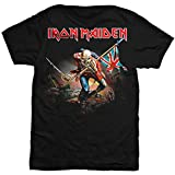 Iron Maiden The Trooper T-Shirt Large, Black