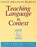 Teaching language in context:proficiency-oriented instruction