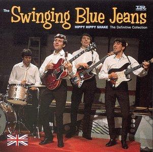 Blue jean swinging speaking
