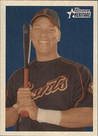 Amazon.com: 2006 Bowman Heritage Baseball Card #51 Moises