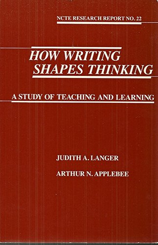 how-writing-shapes-thinking-a-study-of-teaching-and-learning-ncte-research-report