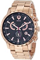 Brillier Men's 16-01 Endurer Rose Gold Chronograph Swiss Quartz Watch from Brillier