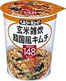 ヘルシーキューピー 玄米雑炊 韓国風キムチ 148kcal (6入り)