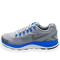 Nike Womens Lunarglide+ 4 Running Shoes, Grey, 5.5 M Us