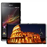 Roman Colosseum in Rome Italy Hard Case Clip On Back Cover For Sony Xperia SP