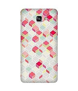 Cube Patterns Samsung Galaxy A9 Case