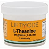 L-Theanine - 50 Grams (250 Servings at 200 mg) | #1 Value for Money #Top Nootropic Supplement | For Anxiety, Focus, Stress Relief, Weight Loss, Pre Workout - FBA