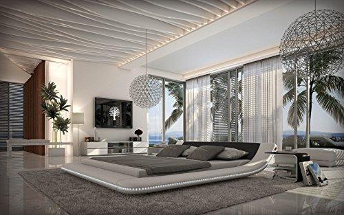 Designerbett-Custo-180-x-200-cm-Schwarz-Wei-modernes-Design