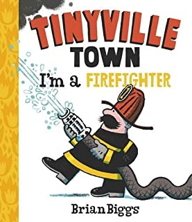 Book Cover: Tinyville Town: I'm a Firefighter