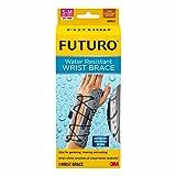 FUTURO Water Resistant Wrist Brace for Left Hand, Small/Medium