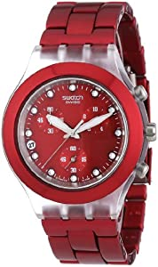 Swatch Irony Diaphane Chrono Full Blooded Sunset Watch   SVCK4044AG