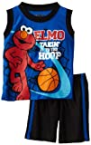Sesame Street Baby-Boys Infant Elmo Basketball Short Set