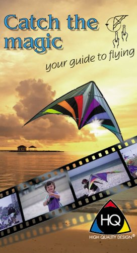 HQ Kites and Designs Catch the Magic Stunt Kite Learning Video DVD