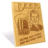 The Beer Cheers Plaque Large