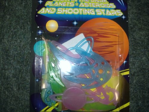 Glow-in-the-Dark Planets & Asteroids & Shooting Stars - 1