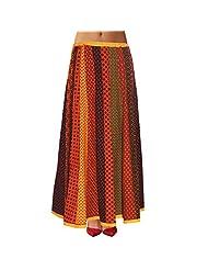Sttoffa Womens Cotton Skirts -Multi-Colour -Free Size - B00MJO7152