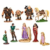 Deluxe Tangled Rapunzel Figurine Set -- 9-Pc.