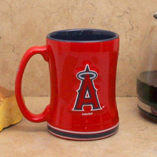 Los Angeles Angels Of Anaheim Coffee Mug - 14Oz Sculpted