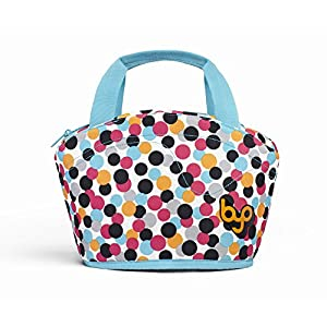 BYO Gusto Lunch Bag, Dot Candy Pink