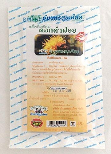 100 Tea Bags Safflower Herbal Tea Blood Circulation Reduce Cholesterol