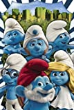 """The Smurfs - Movie Poster (Style A) (Size: 24"""" x 36"""")"""