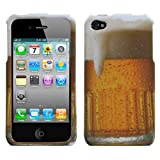 Cellular Factory MyBat Beer-Food Collection Phone Protector Cover for Apple iphone 4S/4