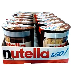 Nutella Ferrero Go Hazelnut Spread and Breadsticks, 22 Ounce