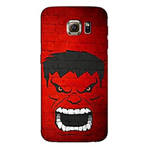 ANGRY PRINTED BACK COVER FOR SAMSUNG GALAXY S6 EDGE