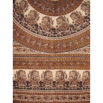 Cotton Tapestry Paisley Mandala