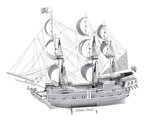 ICONX 3D Metal Model Kits Black Pearl (Building Models For Adults compare prices)