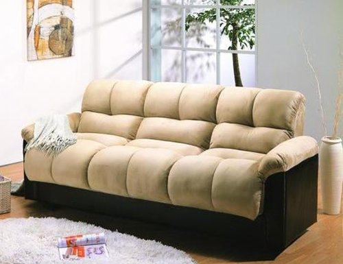 The story Discount ARA Futon Sofa Bed with Storage