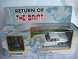 The Saints Jaguar Xjs & Saint Figure Corgi Model Car Mint Boxed Classic /=/