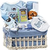Art of Appreciation Gift Baskets Sweet Baby Special Delivery Gift Set for Boy