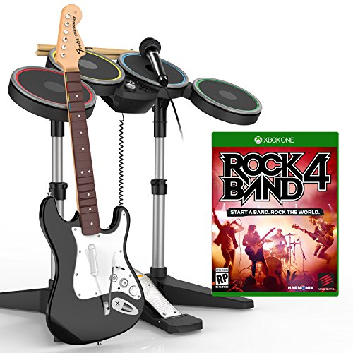 Rock Band 4 Band-in-a-Box Software Bundle - Xbox One