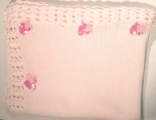 Hand Knitted Baby Blanket back-339638