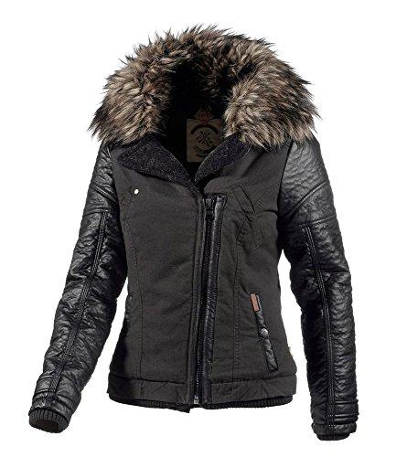 Khujo da donna giacca corta Grey - anthrazit (281CHARCOA) L