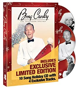 Bing Crosby: The Television Specials Volume 2 - The Christmas Specials Deluxe Edition 2DVD + bonus CD