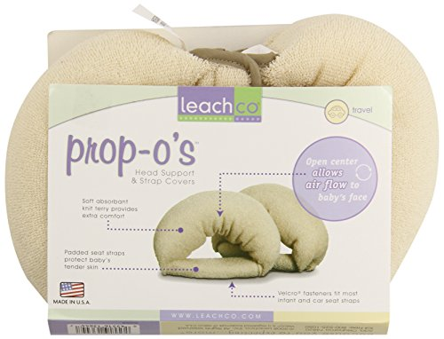 Leachco Prop O's - Head Support And Strap Covers - Natural - 1