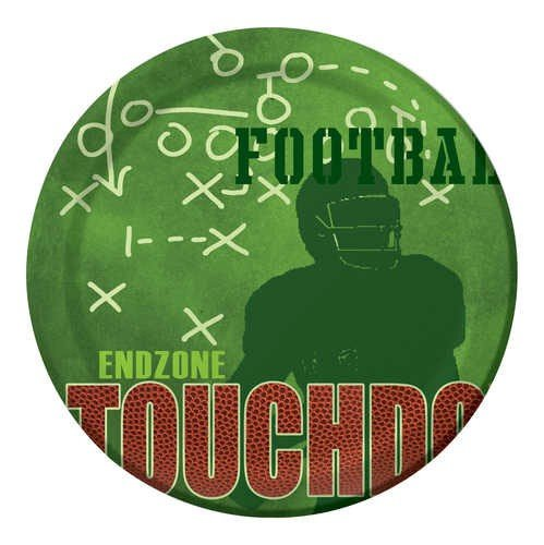 Football End Zone Party Dinner Plates