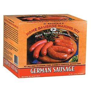 Hi Mountain German Sausage Making Kit by Make Your Own At Home